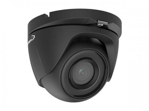 hd cctv-camera - hd tvi - dome - zwart - ecamtvi101b