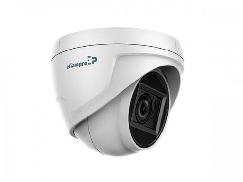 hd cctv-camera - hd tvi - dome - varifocale lens - ecamtvi501