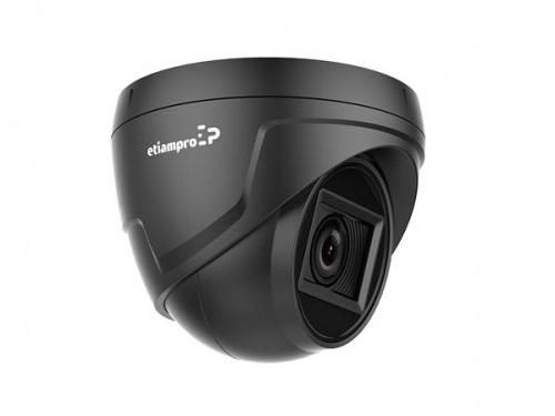 hd cctv-camera - hd tvi - dome - varifocale lens - zwart - ecamtvi501b