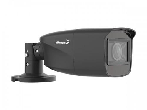 hd cctv-camera - hd tvi - cilindrisch - varifocale lens - zwart - ecamtvi601b