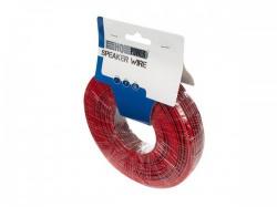 luidsprekerkabel - rood/zwart - 2 x 0.50 mm² - 100 m - hqlw10000