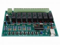 8-kanaals usb relaiskaart - wmi8090