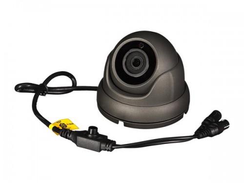 multiprotocol-camera - hd-tvi / cvi / ahd / analoog - gebruik buitenshuis - dome - 1080p - grijs - camtvi7n2