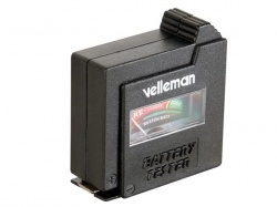 velleman batterijtester in zakformaat - BATTEST