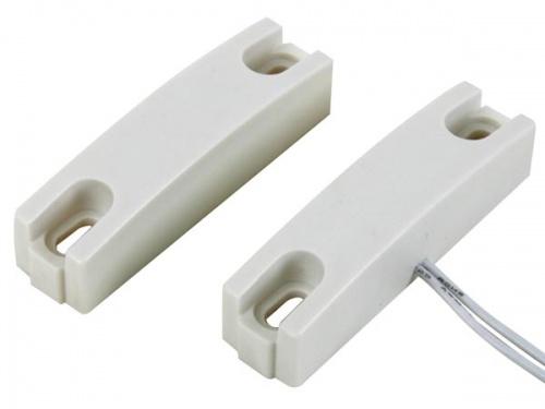 magneetcontact - 0.5a @ 100v dc - nc - met draadaansluiting : 25cm. - haa302