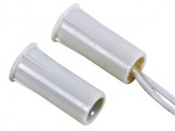 magneetcontact - 0.5a @ 100v dc - nc - met draadaansluiting : 25 cm. - haa304