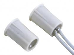 magneetcontact - 0.5a @ 100v dc - nc - met  draadaansluiting : 25 cm. - haa306
