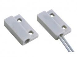 mini magneetcontact - 0.5a @ 100v dc - nc - met draadaansluiting - haa308