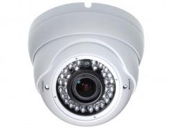analoge camera - gebruik buitenshuis - dome - ir - varifocale lens - 700 tv-lijnen - sony effio dsp - camcold24w