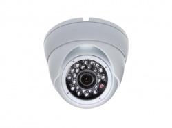 analoge camera - gebruik buitenshuis - dome - ir - 1000 tv-lijnen - sony exmor - camcold25w