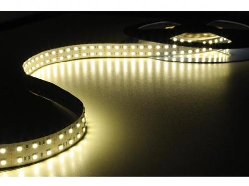 flexibele led strip - warm wit 3500k - 600 leds - 5m - 24v - LQ24N256WW35