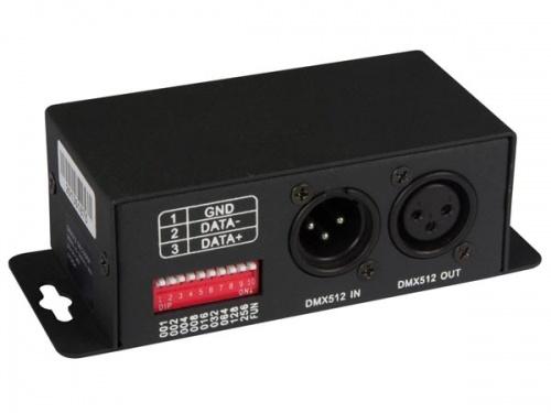 dmx-controller voor professionele digitale led-strips - LEDC25