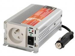 inverter met gemodificeerde sinusgolf 150w 12vdc ingang / 230vac uitgang - pinaarde -  'soft-start' - PI150BN