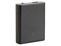 batterijhouder voor 4 x aa-batterijen (met usb connector) + schakelaar - BH341USB