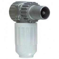 Haakse IEC mannelijke antennestekker - koswi3