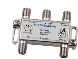 4 Weg antenne splitter F connector, 4G proof - dfc 0741