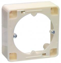 Opbouwrand voor TV/FM antenne wandcontactdoos - ar 20