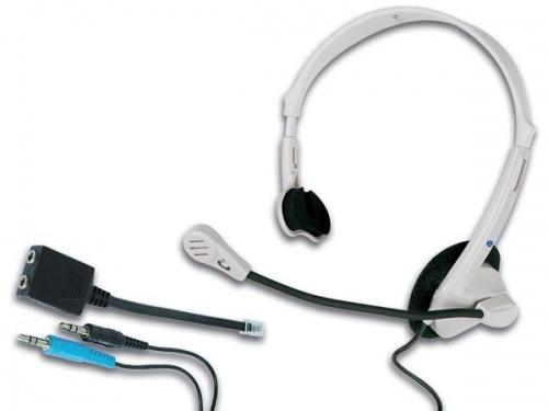 koptelefoon met microfoon voor telefoon en multimedia  - HSMT1