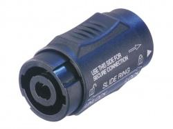 neutrik - speakon adapter, 4-pin vrouwelijk - 4-pin vrouwelijk - NL4MXX