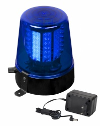LED Zwaailicht - led police light blue