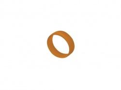 oranje codeerring voor mannelijke-vrouwelijke xlr - XXR-3