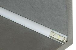Aluminium LED hoekprofiel 15 mm - 2 meter - alu-corner-15mm