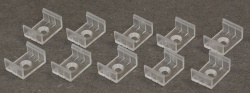 Bevestigingsclips voor ALU-SURFACE-7MM (10 stuks) - clips alu-surface-7mm