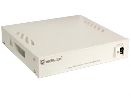 4-kanaals kleuren videoverdeler - VD4C