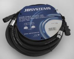 Stroom/Signaalkabel IEC/XLR - 10 meter - combi cable iec/xlr-(10m)