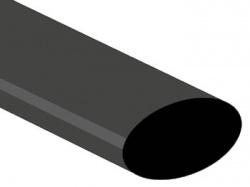 thermische krimpkous 25.4mm - zwart - 25 st. - STB254BK