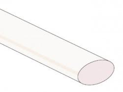 thermische krimpkous 25.4mm - transparant - 25 st. - STB254C