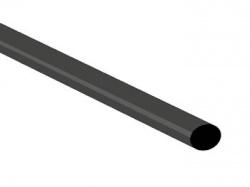 thermische krimpkous 4.8mm - zwart - 50 st. - STB48BK