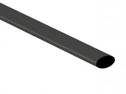 thermische krimpkous 6.4mm - zwart - 50 st. - STB64BK