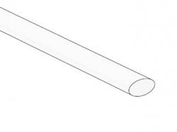 thermische krimpkous 6.4mm - wit - 1,2m - 50 st. - STB64W