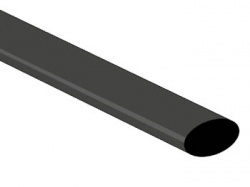 thermische krimpkous 9.5mm - zwart - 25 st. - STB95BK