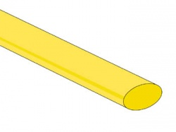 thermische krimpkous 9.5mm - groen/geel - 25 st. - STB95GY