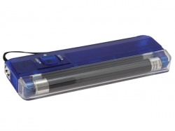 mini uv lamp + spot / blauw - ZLUVBL