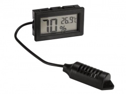 digitale thermometer / hygrometer - inbouw - PMHYGRO