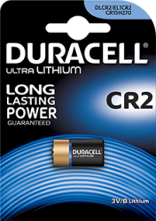CR2 Duracell foto batterij 3V Lithium - CR2