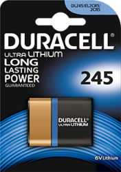 2CR5 duracell foto batterij 6V lithium - 2cr5
