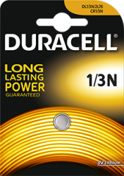 CR1/3N duracell lithium batterij 3V - CR1/3N