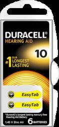 DA10 duracell zinc-air batterij 1.45V  - DA10