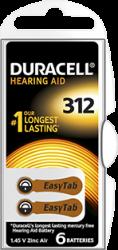 DA312 duracell zinc-air batterij 1.45V - DA312