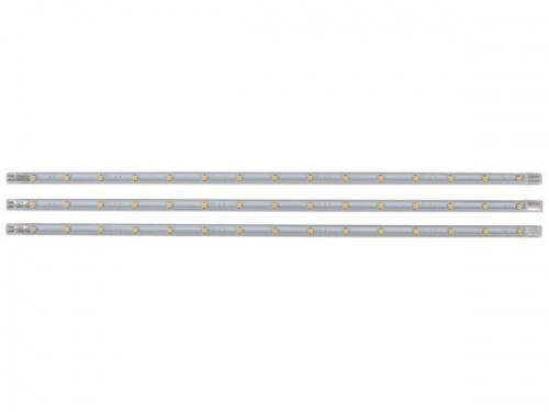 set met niet-buigbare ledstrips - warmwit - LEDS04WW