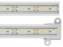 niet-buigbare ledstrip - hoge helderheid - 50 cm - warmwit - CLLS05WWN