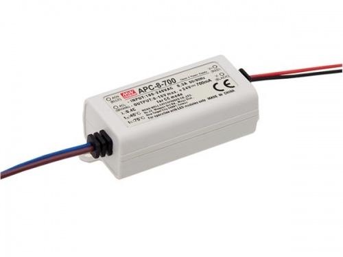 constant current led driver - single output - 700 ma - 7.7 w - APC-8-700