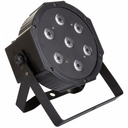Compacte RGBW LED Projector 7 x 10 Watt - party spot