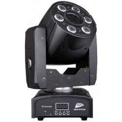 Compacte professionele LED Moving Head 30 W - Moving Wash 6 x 8 RGBW - striker