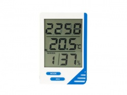digitale thermometer & hygrometer  - ta21