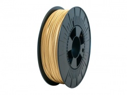 1.75 mm filament - hout - 750 g - pla175nw05
